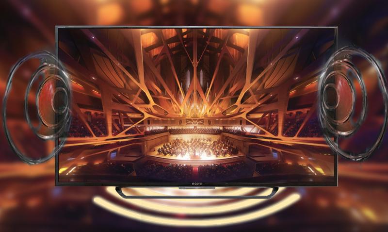 Tivi Smart Sony 55X7000 cho người xem trải nghiệm chất lượng âm thanh sôi động, hoàn hảo