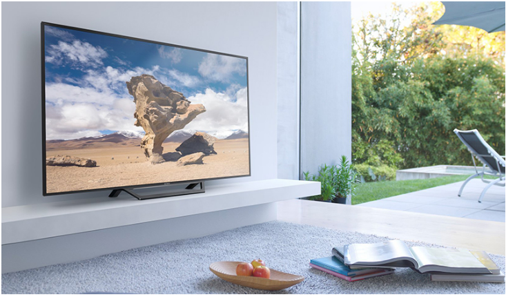 Internet tivi 55W650D có khả năng bảo vệ những ảnh hưởng bên ngoài