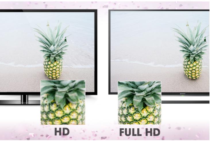 Tivi Sony 55W650 có chất lượng hình ảnh hiển thị sắc nét gấp 2 lần HD