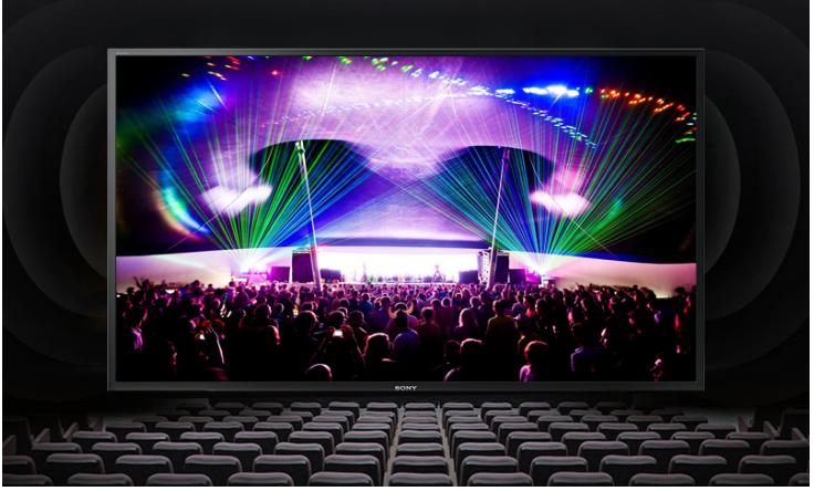 Chất lượng âm thanh sinh động và trung thực của tivi Sony 55W650D