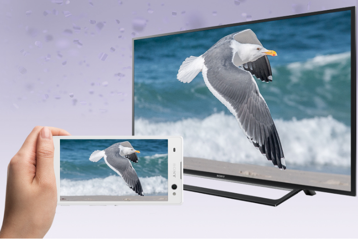 Chia sẻ hình ảnh từ điện thoại lên màn hình tivi 55W650D