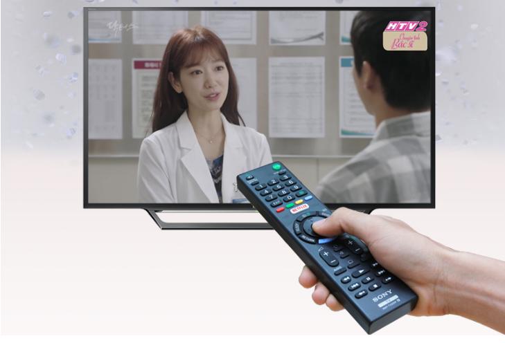 Xem các kênh kỹ thuật số miễn phí với tivi Sony 55 inch 55W650