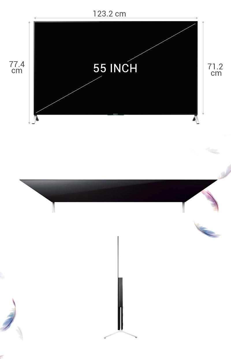 Kích thước của tivi