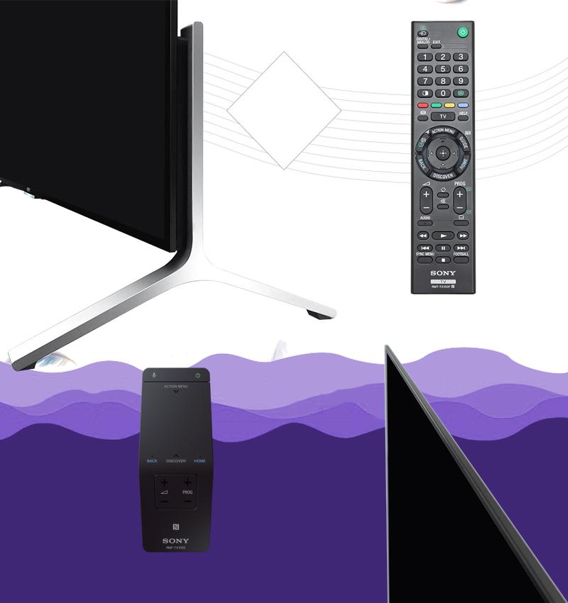 Tivi 55X9000 điều khiển thông minh