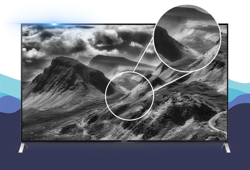 Sony 55X9000 chuyển động mượt mà