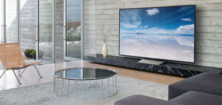 Tivi Sony 65X8500D 65 inch với thiết kế mỏng sang trọng, đẳng cấp