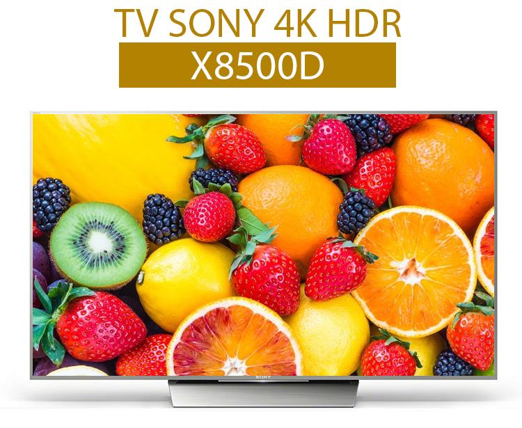 Tivi Sony 65X8500D – Vẻ đẹp hiện đại hoà cùng với mọi không gian sống
