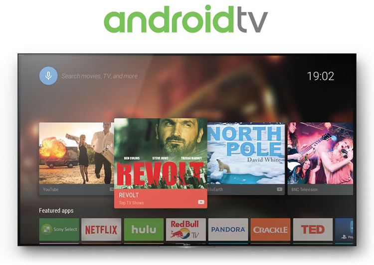 Hệ điều hành Android TV với kho giải trí tuyệt vời
