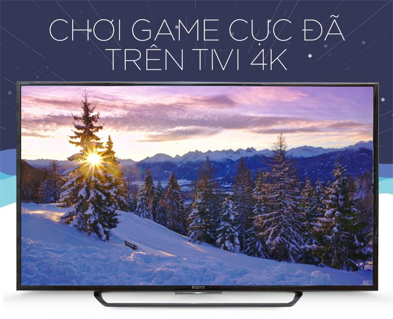Smart Tivi 49X8000D chơi game cực đã