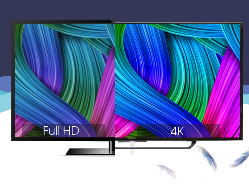 Công nghệ 4K X-Reality PRO giúp nâng cấp chất lượng hình ảnh