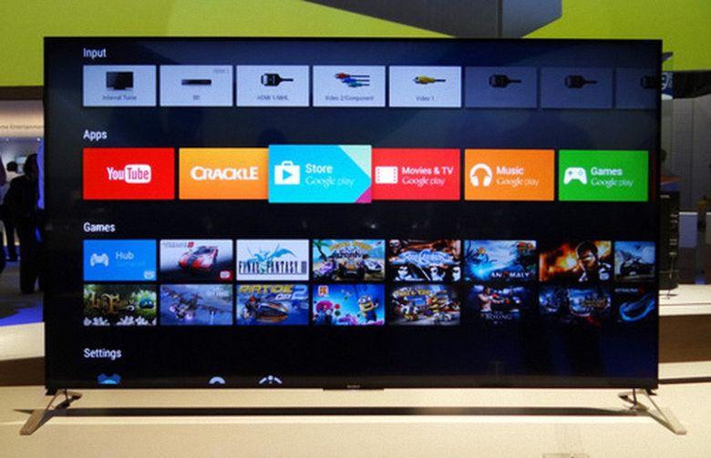 Sony 65X9300 hoạt động trên nền tảng Android thông minh