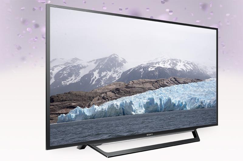 Thiết kế hiện đại, sang trọng với tivi Sony 55W650D