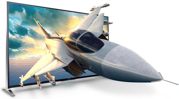Công nghệ hình ảnh 3D thụ động trên Sony 65X9000