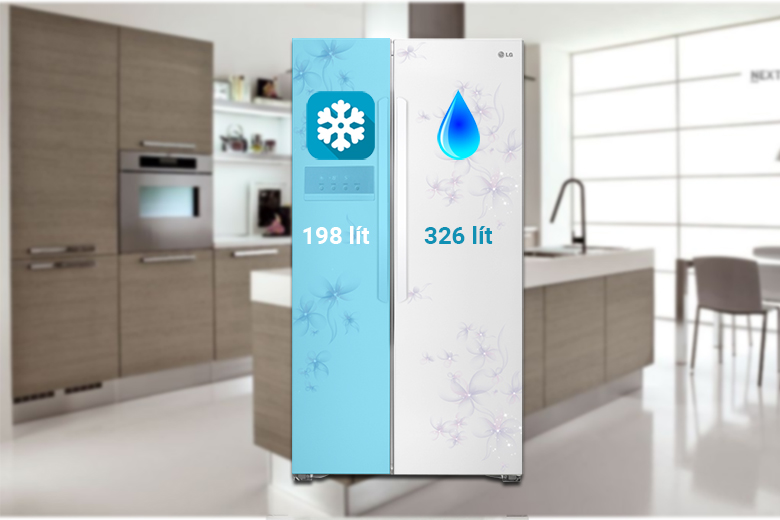 Tủ lạnh LG GR - B227 GF 581 lít