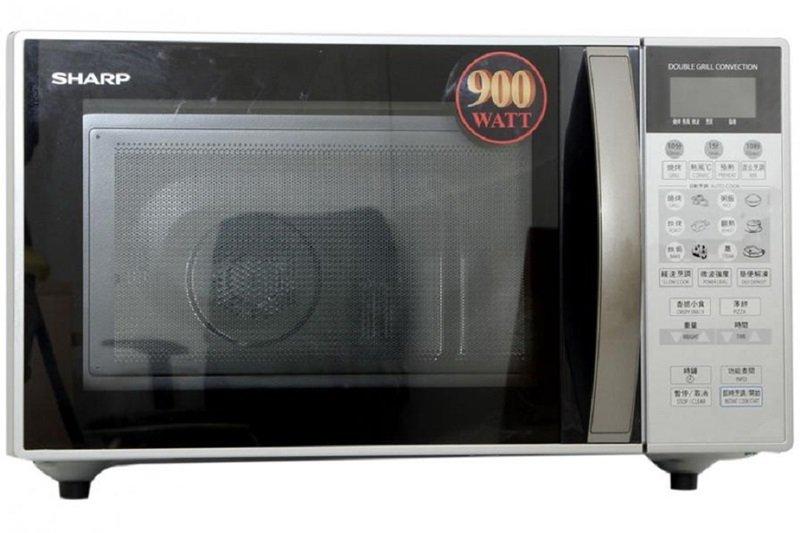 Lò vi sóng Sharp R-898M(S) sang trọng, tiện lắp đặt trong các gian bếp hiện đại