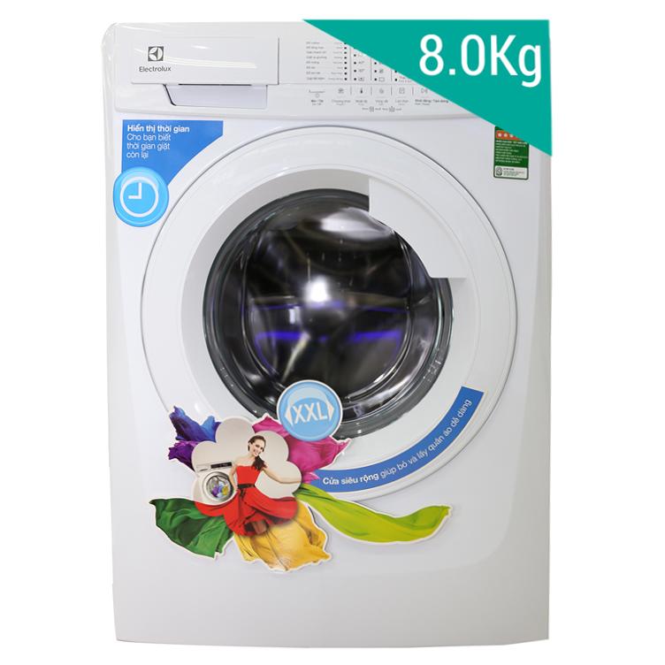 Thiết kế gọn gàng, dễ di chuyển của Máy giặt Electrolux 8 Kg EWF12844