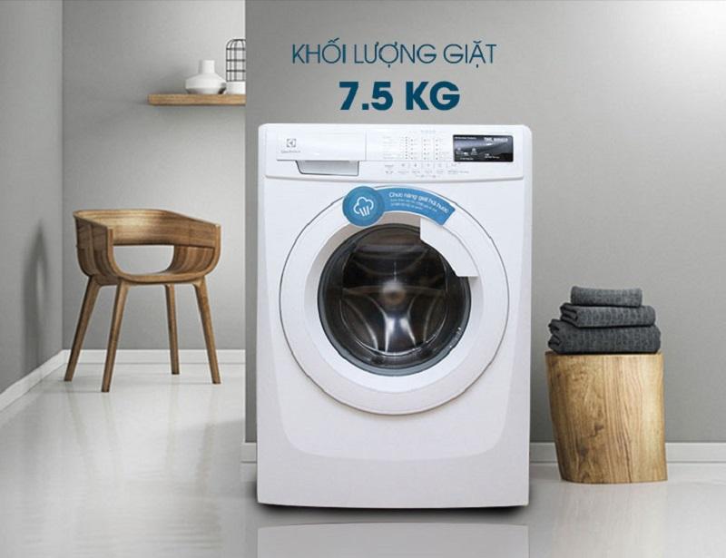 Khối lượng giặt phù hợp cho gia đình từ 4-5 người.