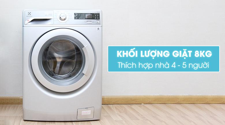 Tiết kiệm tối đa điện năng tiêu thụ với công nghệ Inverter với máy giặt Electrolux EWF12832S