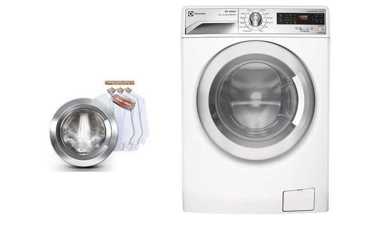 Hệ thống giặt Jetspray với máy giặt Electrolux EWF12832