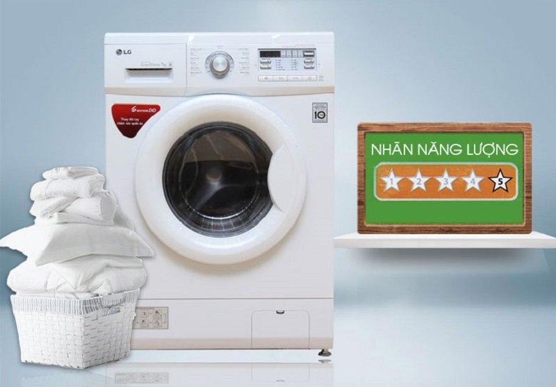 Công nghệ tiết kiệm điện Inverter với máy giặt F1407NMPW