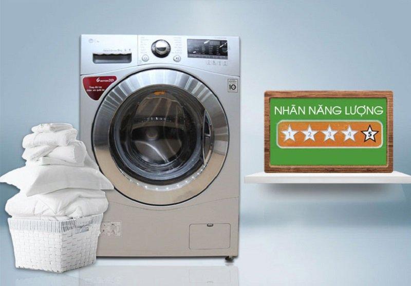 Công nghệ tiết kiệm điện Inverter với máy giặt 8kg F1408NPRL