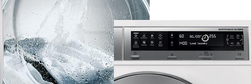 Sự kết hợp hoàn hảo của tính năng sấy của máy giặt Electrolux EWW14012 10 kg