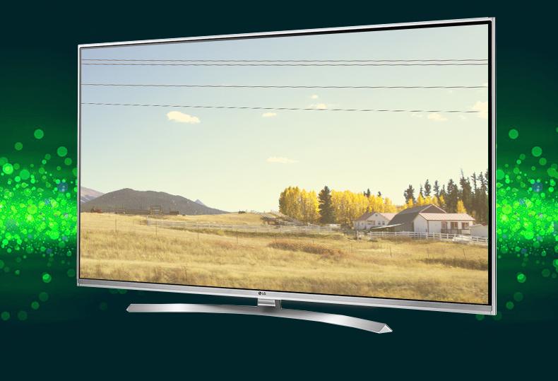 Smart tivi LG UHD 4K 49UH617T Ấn tượng với thiết kế thanh thoát, hiện đại