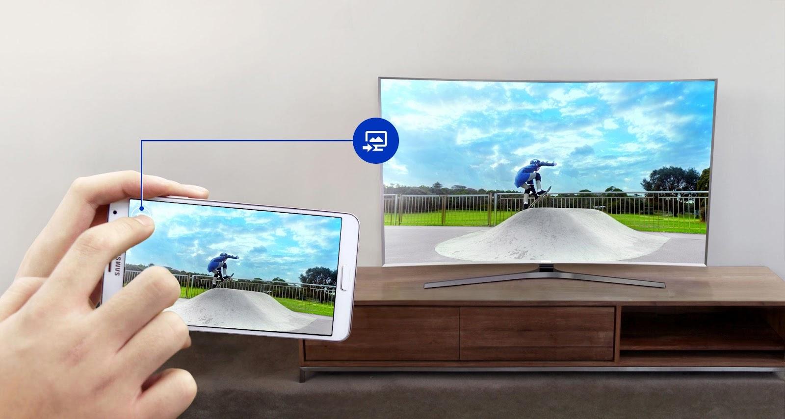Chia sẻ thông minh giữa TV và các thiết bị di động