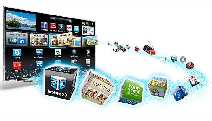 Trải nghiệm kho ứng dụng và trò chơi phong phú trên Smart TV