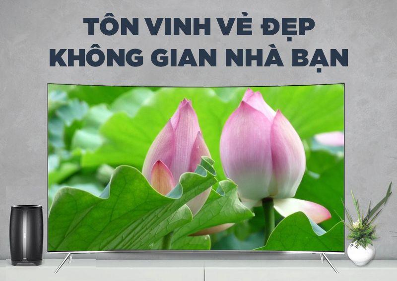 Tivi Samsung 55 inch 55KS7500 mang đến đẳng cấp cho không gian sống