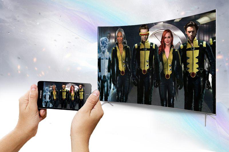 Chiếu màn hình điện thoại, máy tính bảng lên tivi nhanh chóng