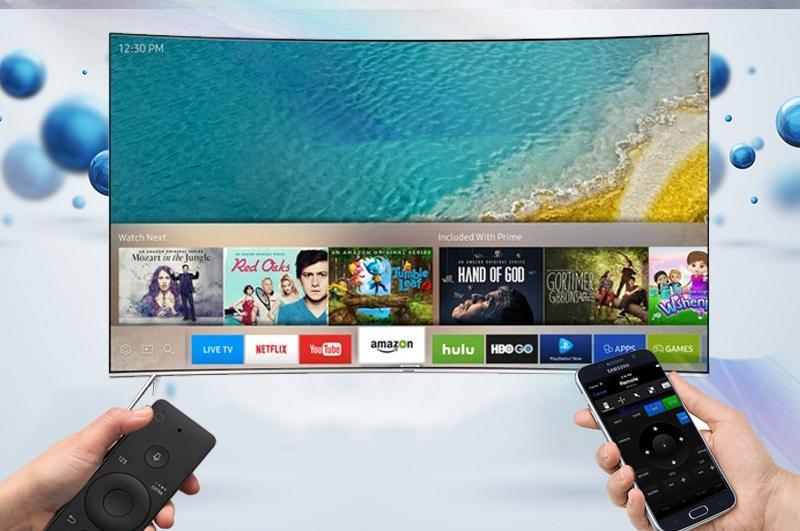 Điều khiển tivi bằng điện thoại với Samsung Smart View