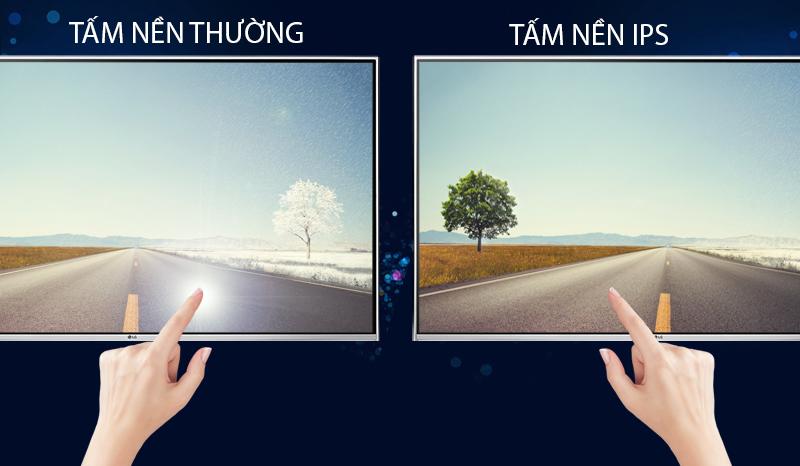 Tivi LG 55UH850T màn hình IPS góc nhìn rộng, hiển thị các cảnh chuyển động nhanh mượt mà, tinh tế