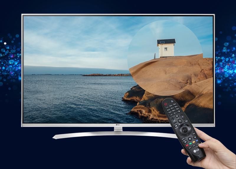 Đọc báo, nghe nhạc, xem phim, chơi game... trên Smart Tivi LG 55UH850T
