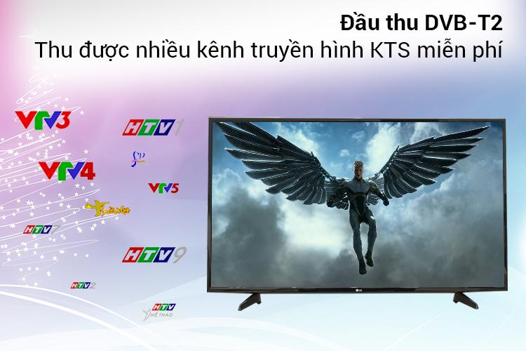 Tivi LG 49LH570T Tích hợp sẵn đầu thu DVB- T2