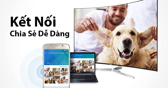 Chia Sẻ Thông Minh trên smart TV 40K6300