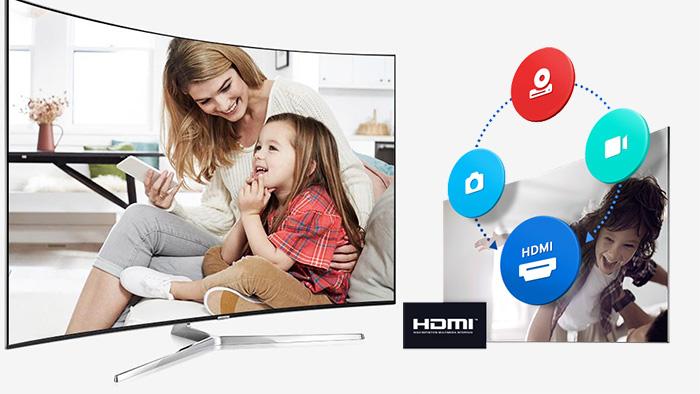 Tivi Samsung 55k5500 sở hữu trung tâm giải trí