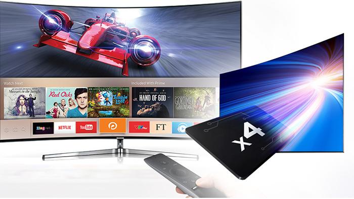 Hiệu suất mạnh mẽ trên Smart tivi samsung 55k5500