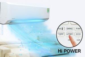 Chế độ làm lạnh nhanh Hi Power dễ dàng sử dụng