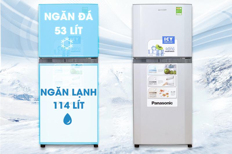 Tủ lạnh Panasonic NR-BM189SSVN 167 lít - Phá cách với kiểu dáng hoàn toàn mới