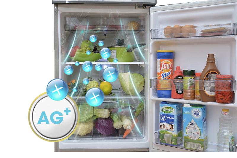 Kháng khuẩn khử mùi hiệu quả với tủ lạnh Panansonic 167 lít NR-BM189SSVN