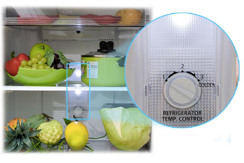 Tiết kiệm hơn với hệ thống đèn LED với tủ lạnh NR-BM189SSVN
