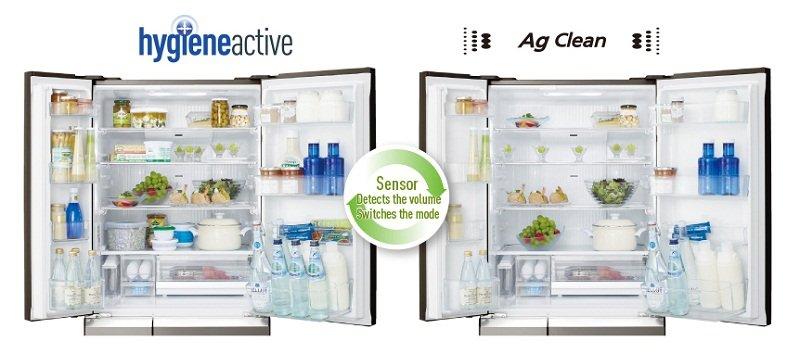 Chức năng kháng khuẩn mạnh mẽ, linh hoạt với tủ lạnh NR-F510GT-W2