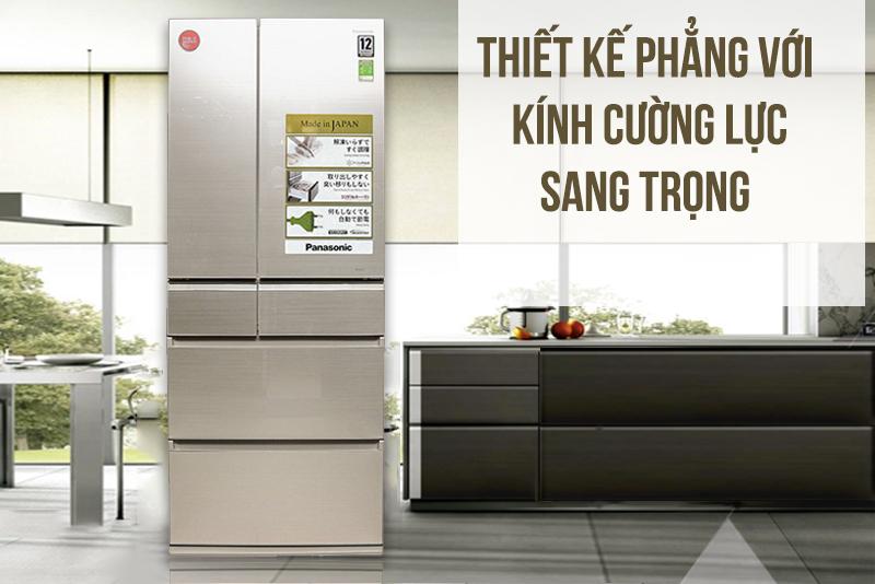 Tủ lạnh Panasonic NR-F610GT-N2 588 lít - Một sản phẩm cao cấp, hiện đại