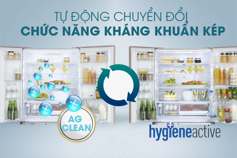 Sạch khuẩn, thoáng khí với công nghệ Ag Clean