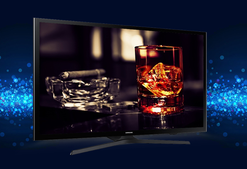Tivi Samsung UA50J5200 với phong cách tinh tế trong từng đường nét