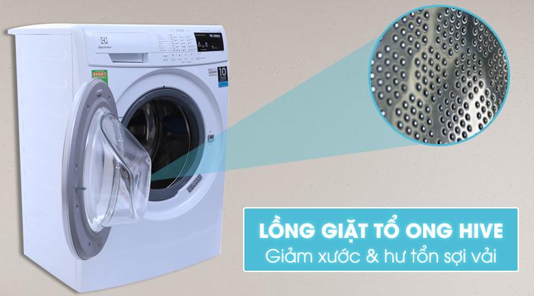 Lồng giặt HIVE tổ ong giặt sạch hơn, bảo vệ sợi vải