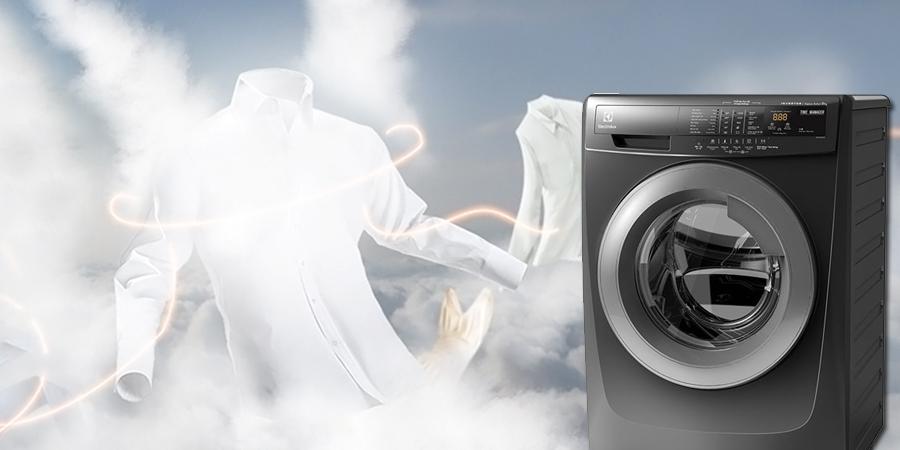 Chế độ giặt hơi nước tiên tiến với máy giặt 8 kg EWF-12844S
