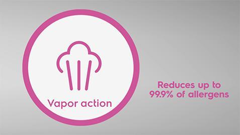 Công nghệ giặt hơi nước - Vapour Action
