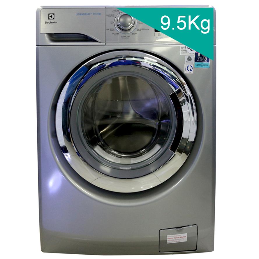 Dáng vẻ thẩm mỹ và sang trọng với Máy giặt Electrolux EWF12935S